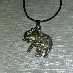 🐘Unisex's Stainless Steel Elephant Silver Pendant